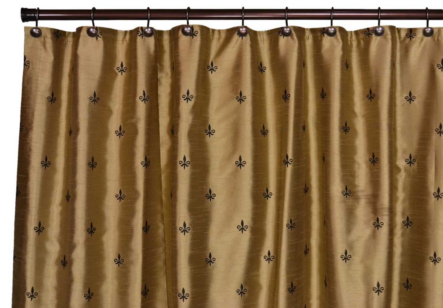 Fleur Di Lis Bathroom Fleur De Lis Shower Curtain Black Shower Curtains Ideas