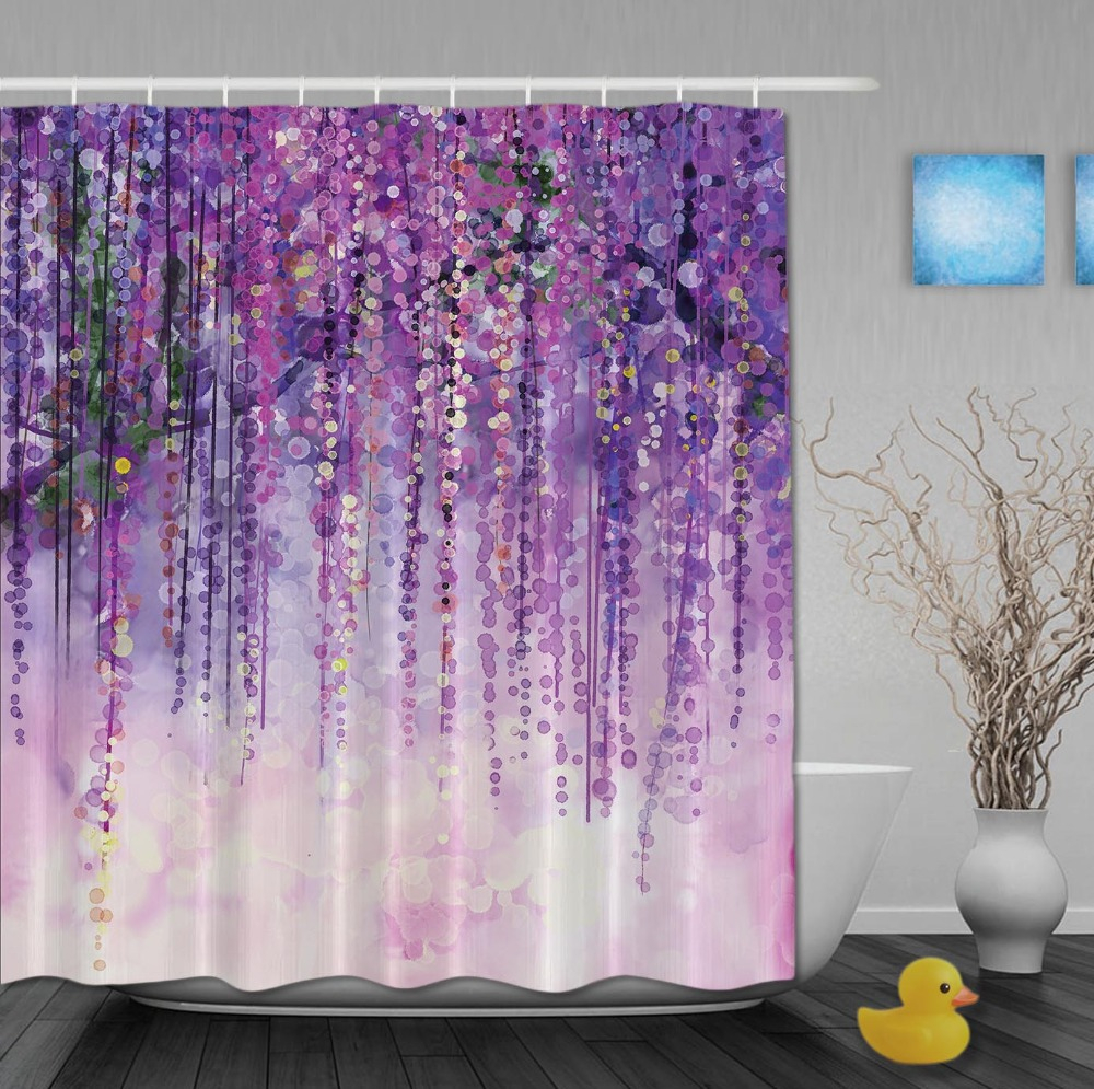 Lavender Shower Curtains Lavender Shower Curtain Hooks Shower Curtains Ideas