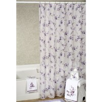 Green And Purple Shower Curtain - Home Ideas