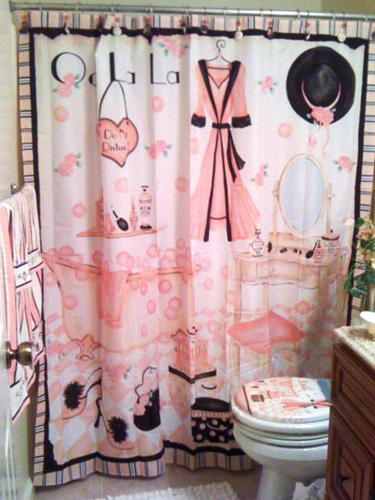 Cute Girly Shower Curtains Girly Girl Shower Curtains Shower Curtains Ideas