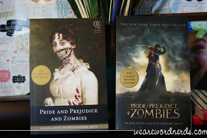Pride and Prejudice and Zombies by Jane Austen and Seth Grahame-Smith | WeAreWordNerds.com
