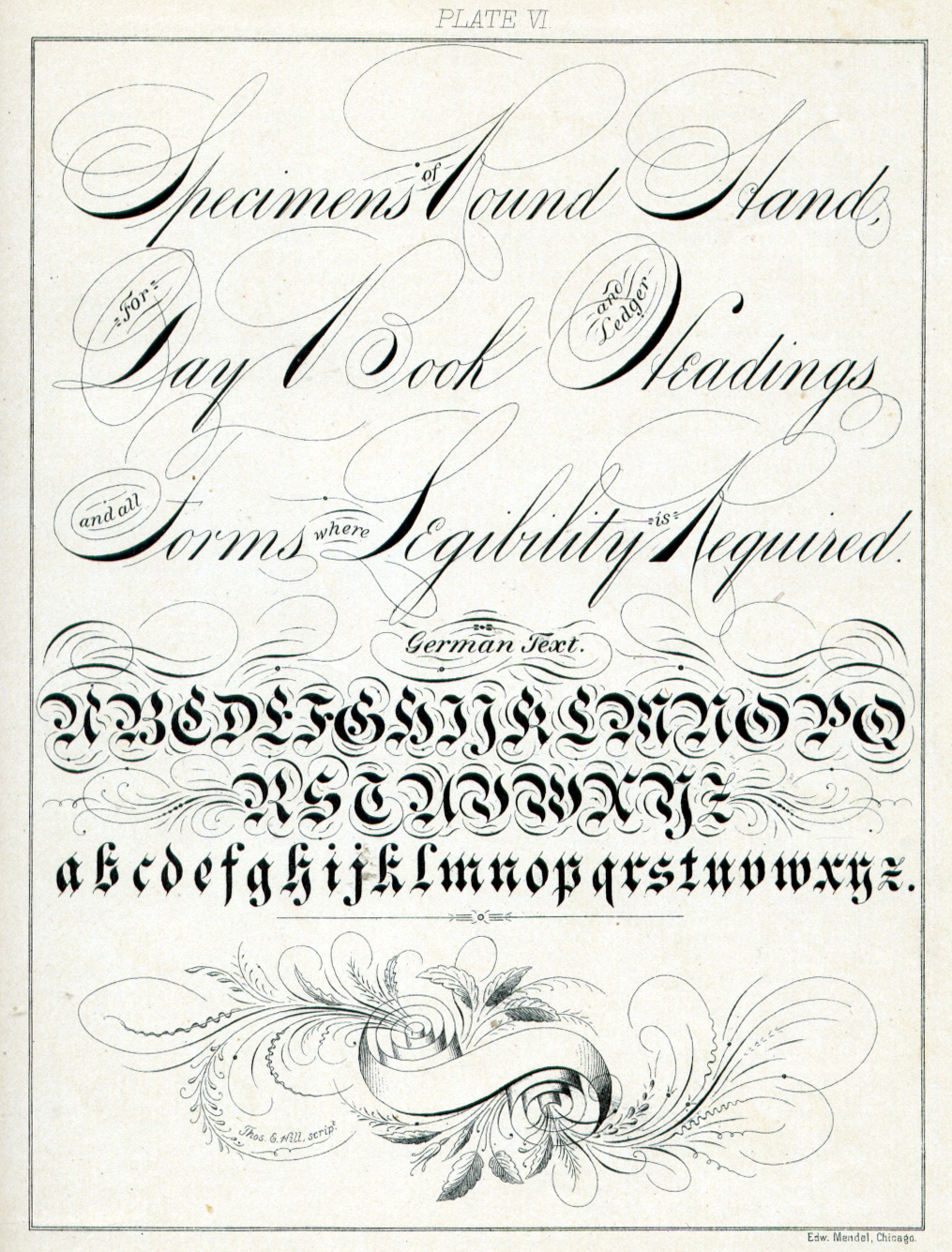 Calligraphy Fonts Victorian Victorian Decorative Handwriting 1883 Wearing History Blog