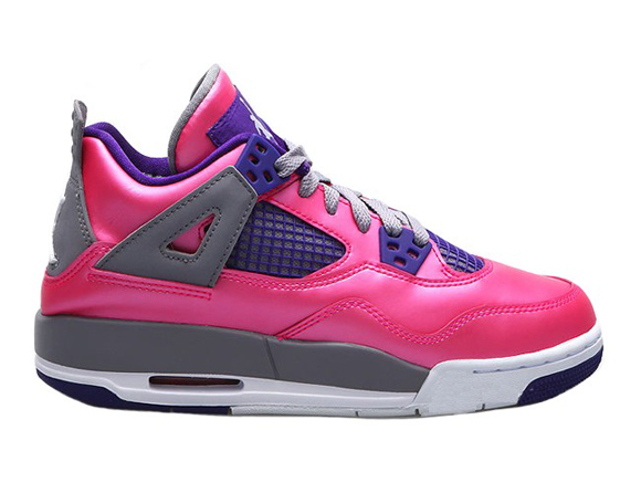 Air Jordan 4 Retro GS Pink Purple - Grey - Available for Pre-Order