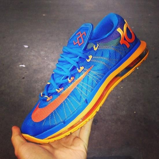 Nike KD 6 Elite – BlueOrange1
