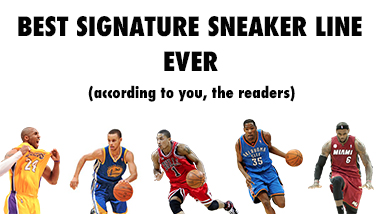 best signature athlete sneaker line ever