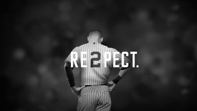 Derek Jeter Re2pect - Campaign poster