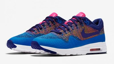 nike air max 1 flyknit 'multicolor'