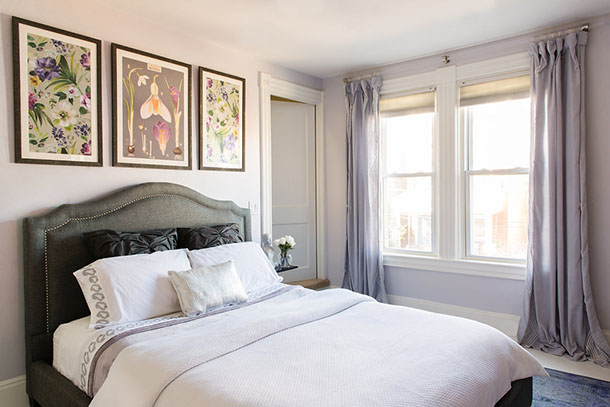 Refresh Your Bedroom: Add Pillows, Flowers & Dog Photo: Erika Gidley