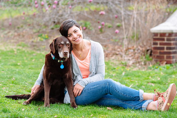 Chocolate Labrador Dog Mom