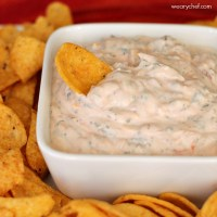 Super Easy Sour Cream Mexican Dip