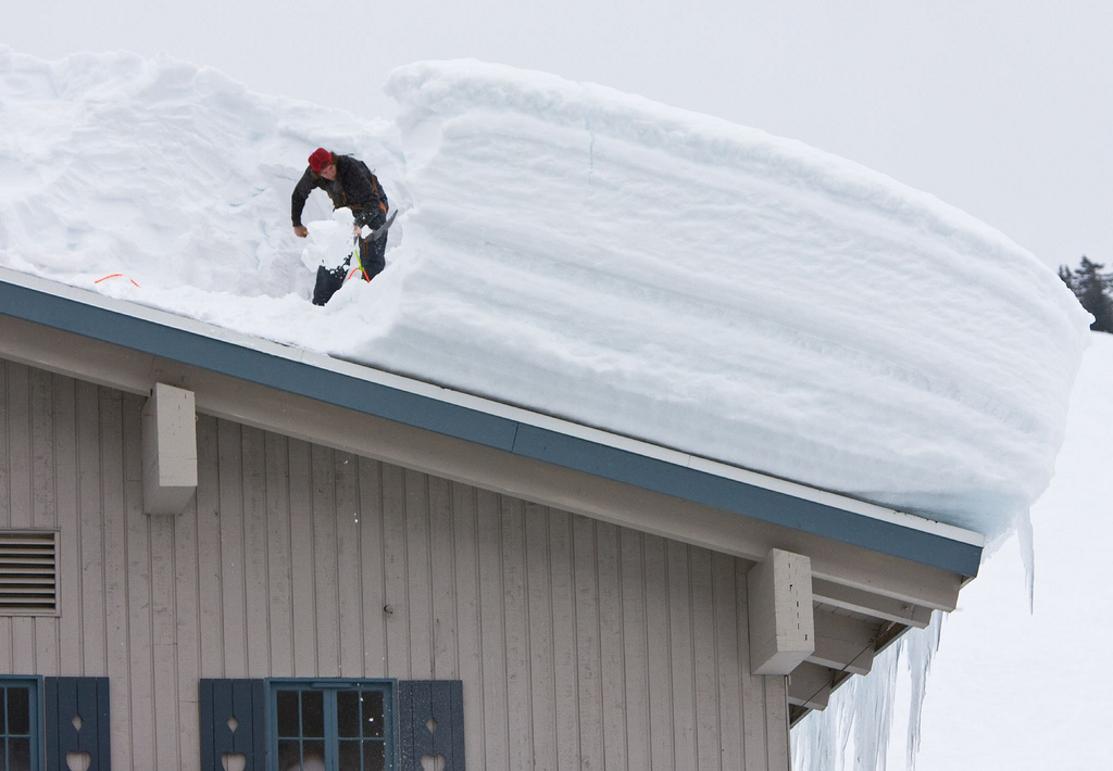 When Should You Worry About Snow Accumulation On Your Roof