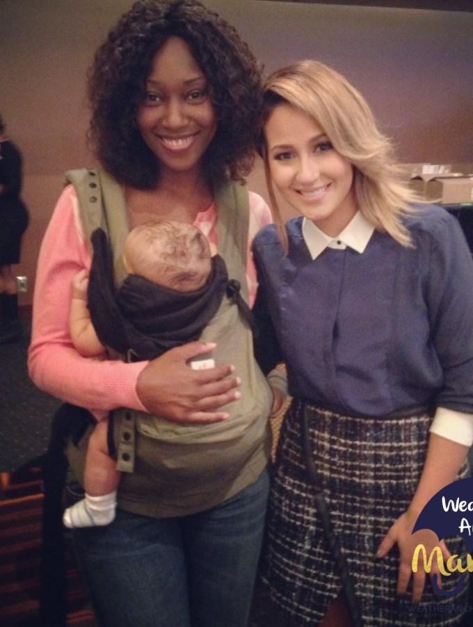 Adrienne-Bailon-Blogalicious-WeatherAnchorMama-Ergo-Baby
