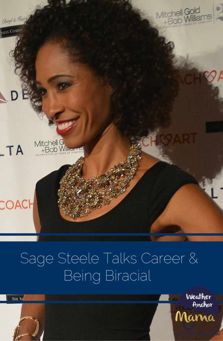 ESPN's Sage Steele Talks About Career and Growing Up Biracial
