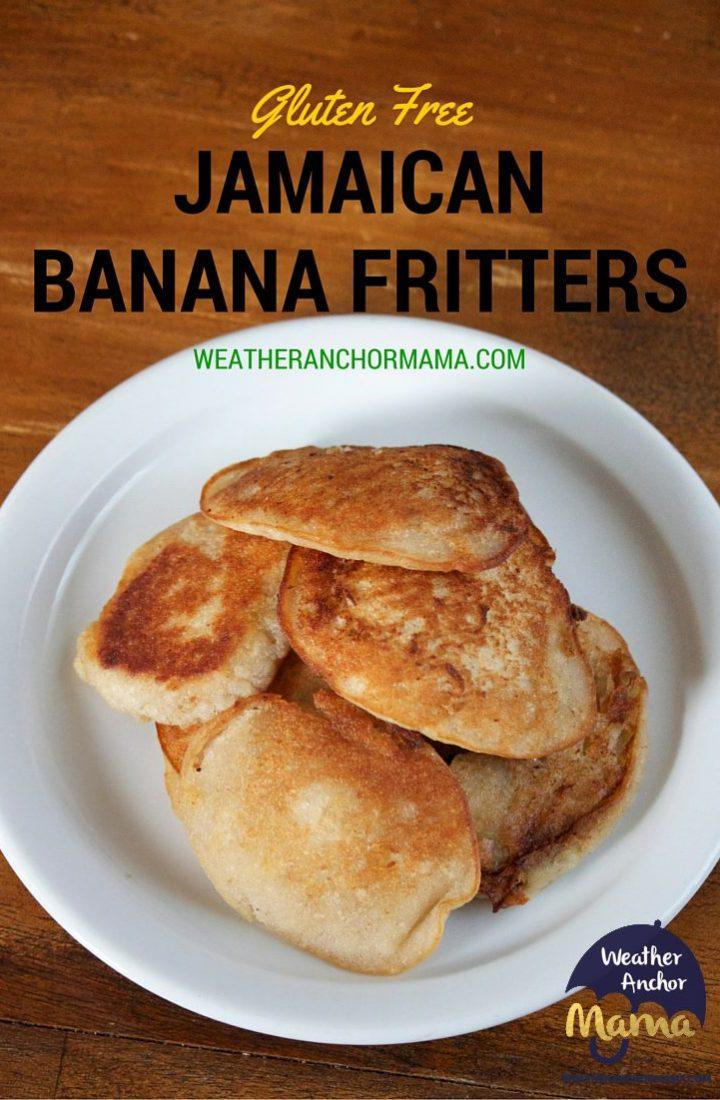 Gluten Free Jamaican Banana Fritters Recipe
