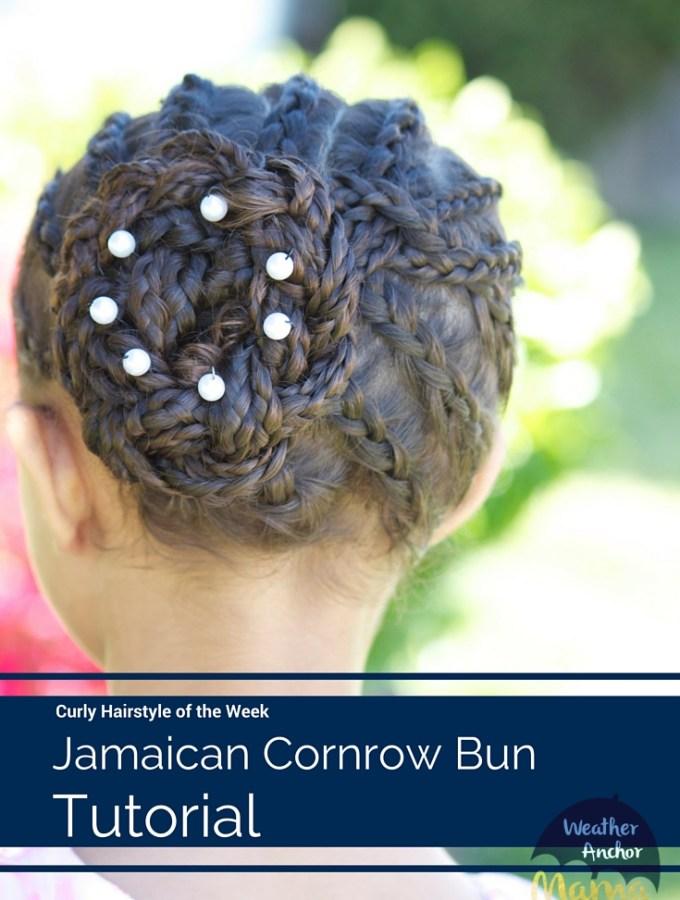 Jamaican-Cornrow-Bun