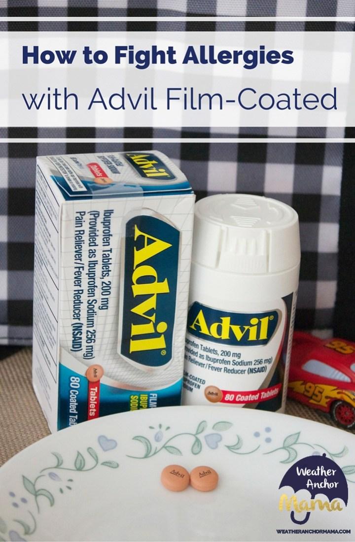 How to Fight Allergies Advil film-coated #collectivebias #racedayrelief