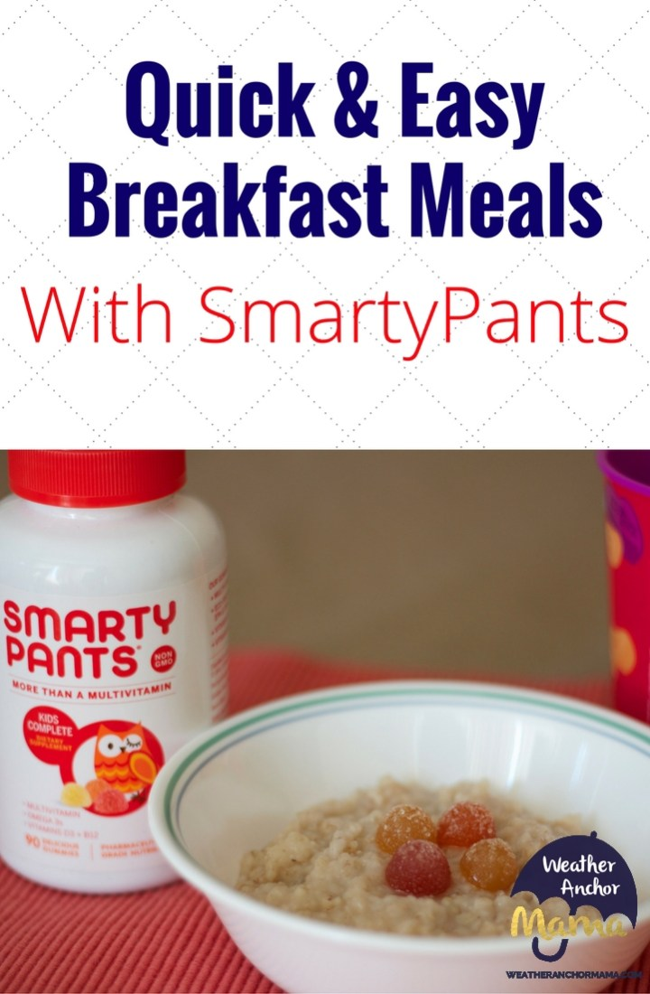 How to Make Quick and easy Breakfast Meals smartypants vitamins