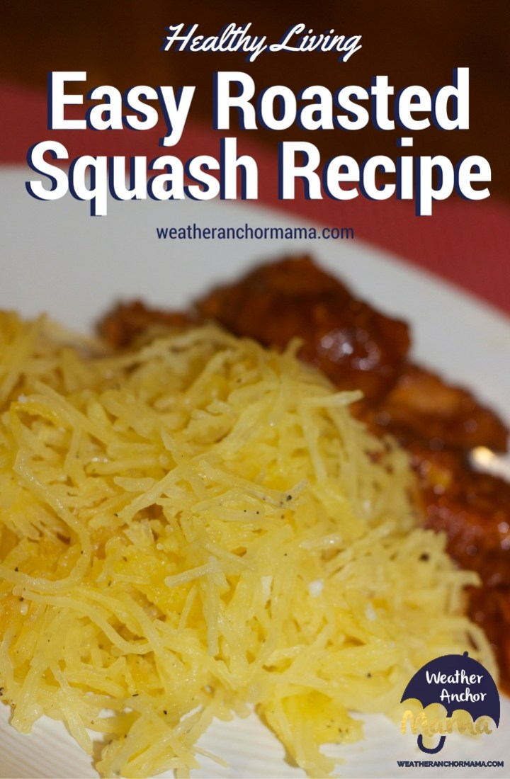 Roasted Spaghetti Squash Recipe