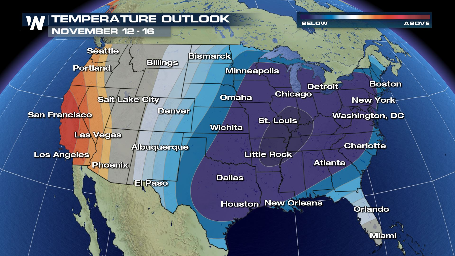 Like Weather What December Like Weather To Invade North Central U S Weathernation