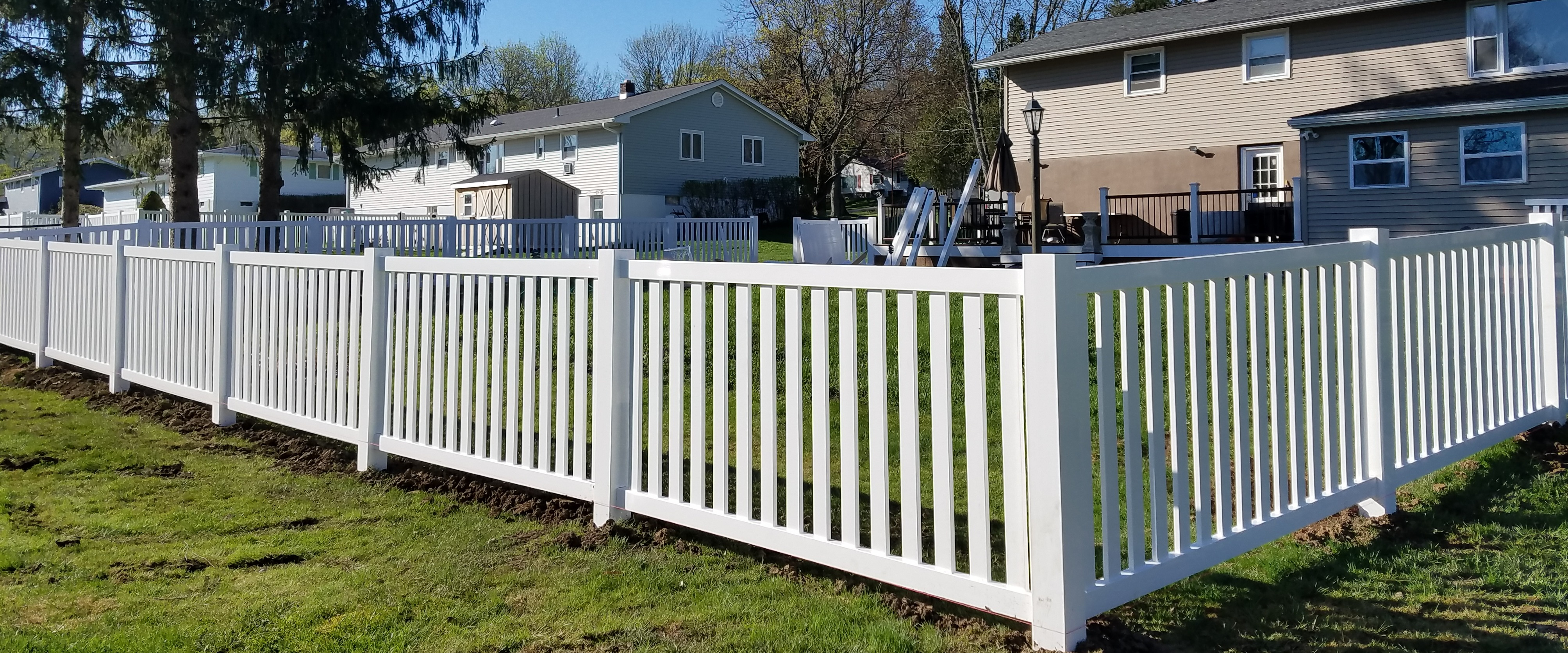 Diy Vinyl Fence Supplies Weather Tite Fencing Central New York