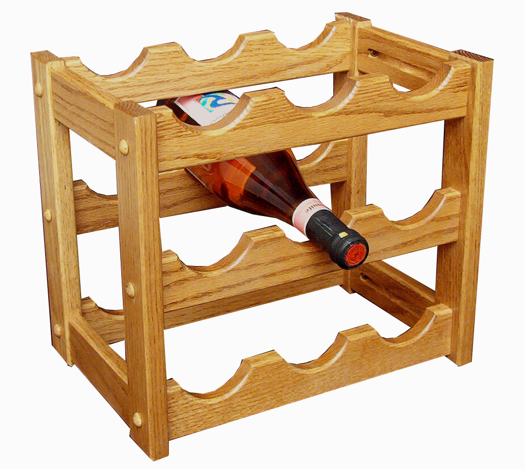 Small Wine Stand Amish Solid Wood Wine Rack Small Solid Wood Wine Rack