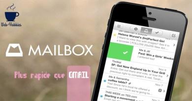 MAILBOX, la rapidité des emails que GMAIL