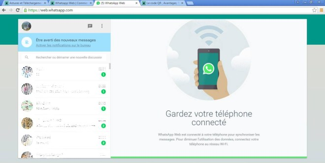 Whatsapp Web   Comment utiliser Whatsapp sur vos ordinateurs