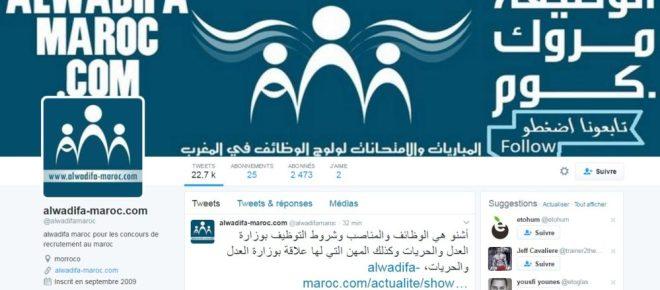 Twitter Alwadifa Maroc