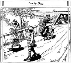 Lucky Dog Truss Bridge Drawing
