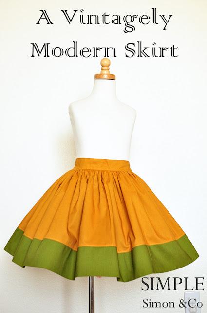 fall swing skirt