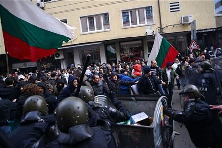 Tens of thousands protest electricity rate hikes in Bulgaria.