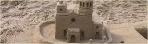 Build a Giant Sandcastle