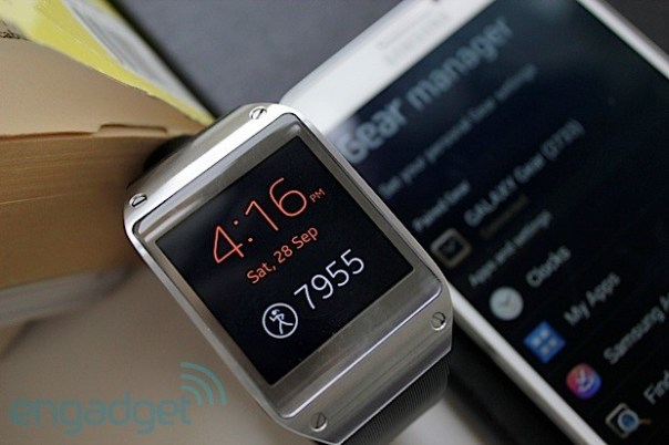 display gear The Samsung Galaxy Note III and Samsung Galaxy Gear