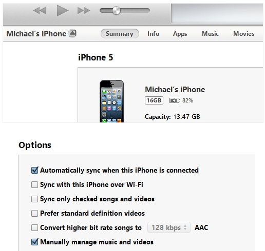 How to copy music files to iPhone without iTunes sync.