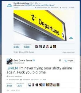 KLM tweet MExit