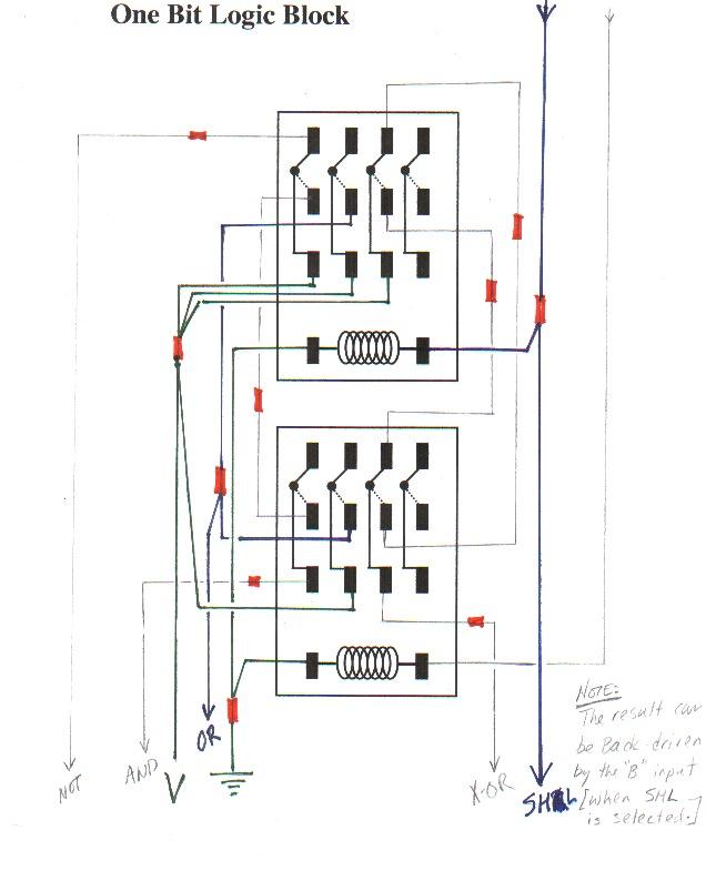 universal relay block