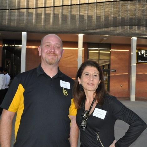 CECEM Department Chair Antonella Sciortino and alumni