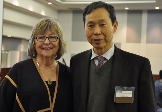 CSULB President Jane Conoley and IGESC Chair Henry Yeh