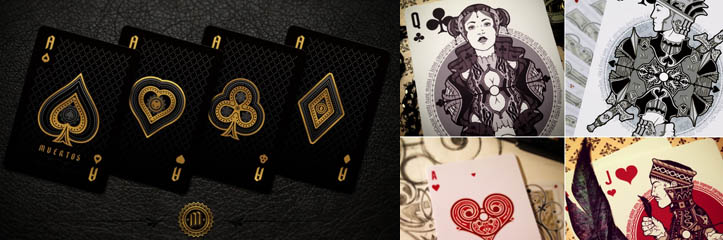 トランプアート - Kickstarterから21のテーマカードデザイン