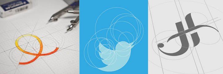グラフィックインスピレーション#6:グリッドで構成される25のロゴ