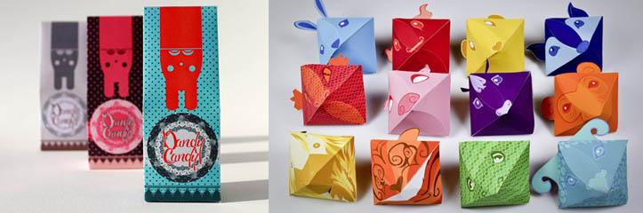 30のインスピレーションのためのクリエイティブなキャンディパッケージ