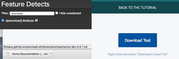 クイックチップ:HTML5の「download」属性の使用