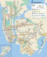 NYC MTA Subway Map