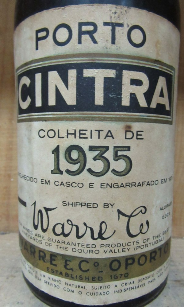 VP Warre's Cintra Colheita 1935 _2