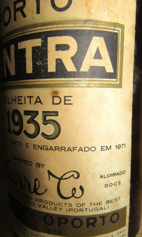 VP Warre's Cintra Colheita 1935 _4