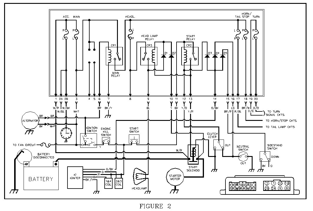 rd350 wiring diagram