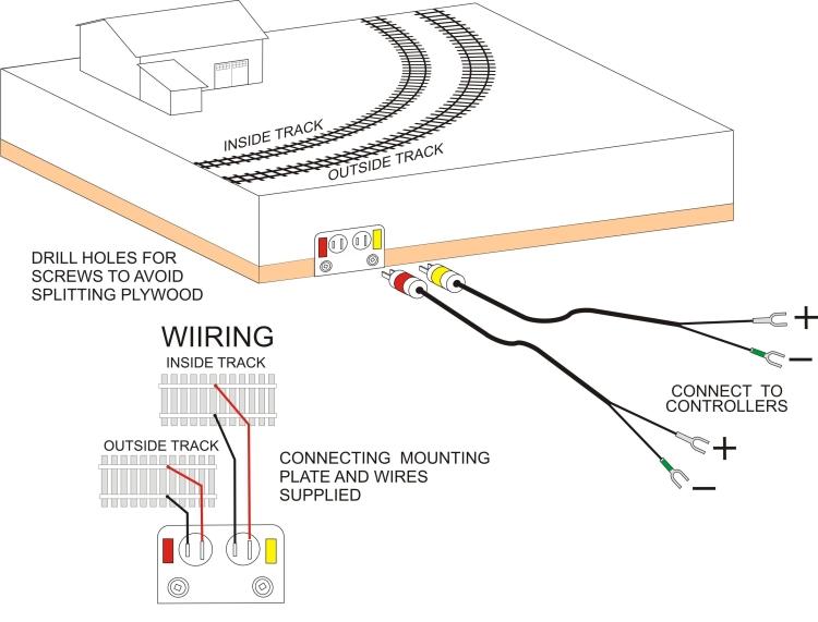 kato track wiring