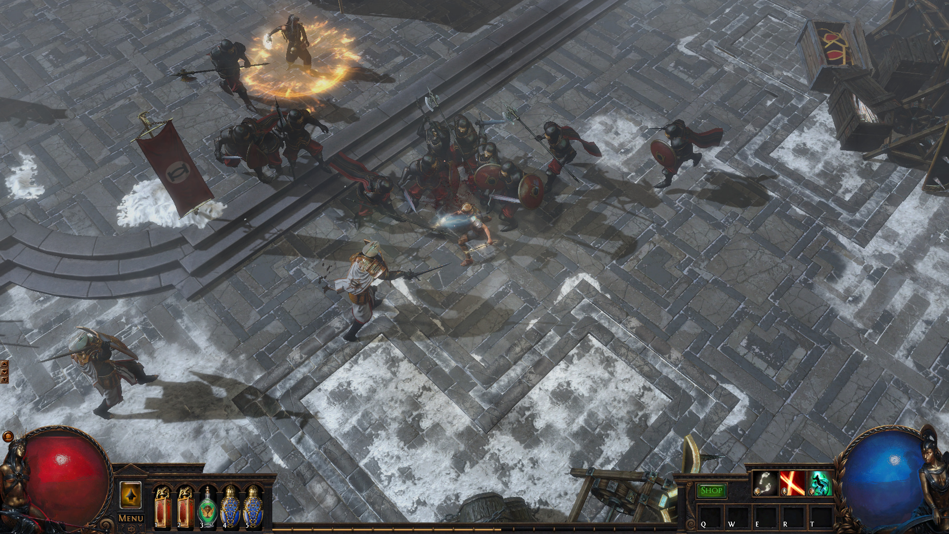 Poe Fall Of Oriath Wallpapers 3 0 Globe Girls Are Back Somewhat Pathofexile