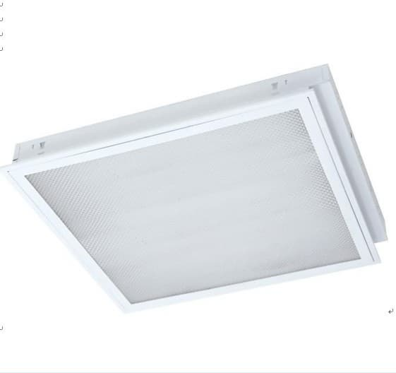 T5 Indirect Lighting Fixture T5,t8 Recessed Modular Fitting,fluorescent Louver Fitting