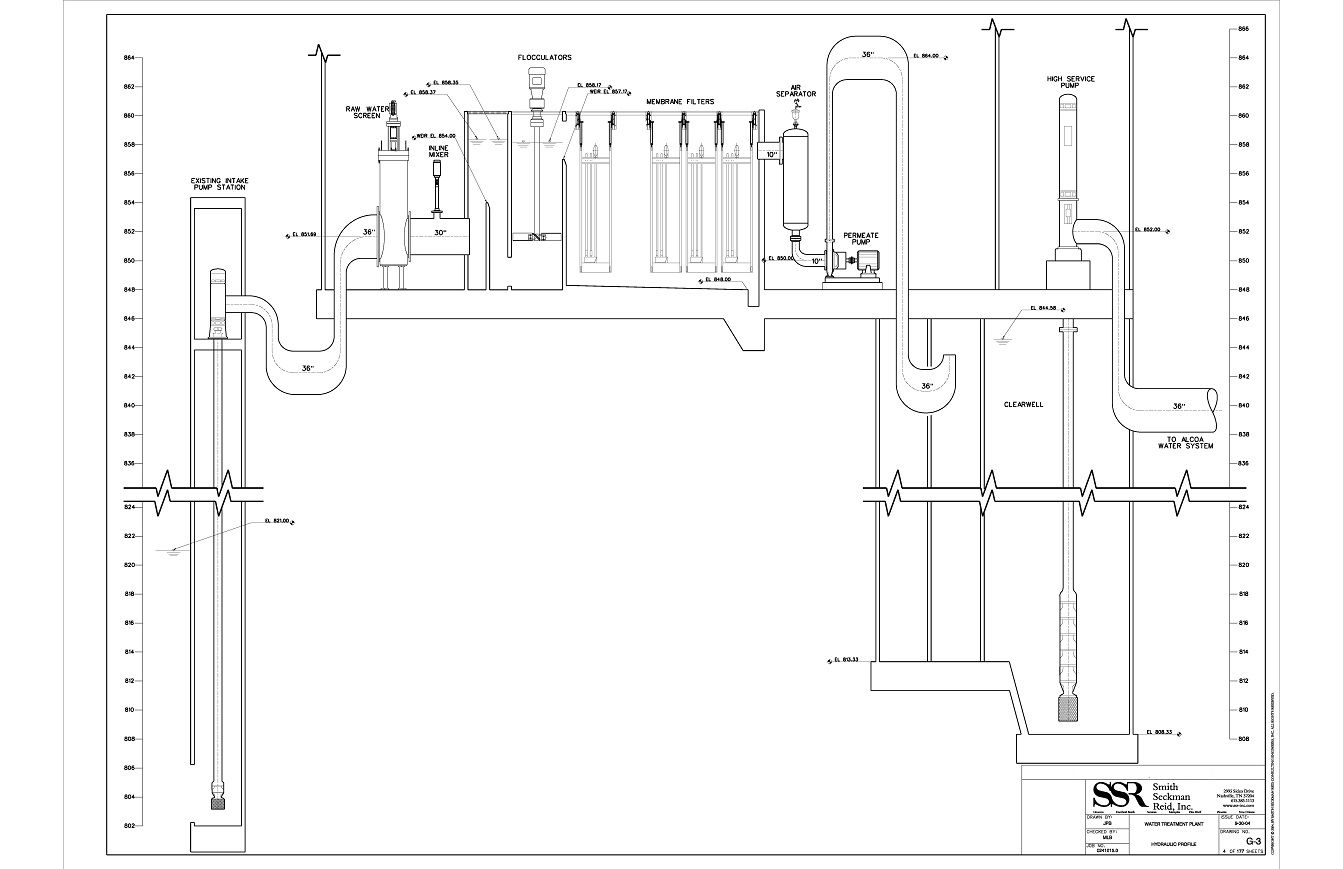 piping schematic for an epa well system